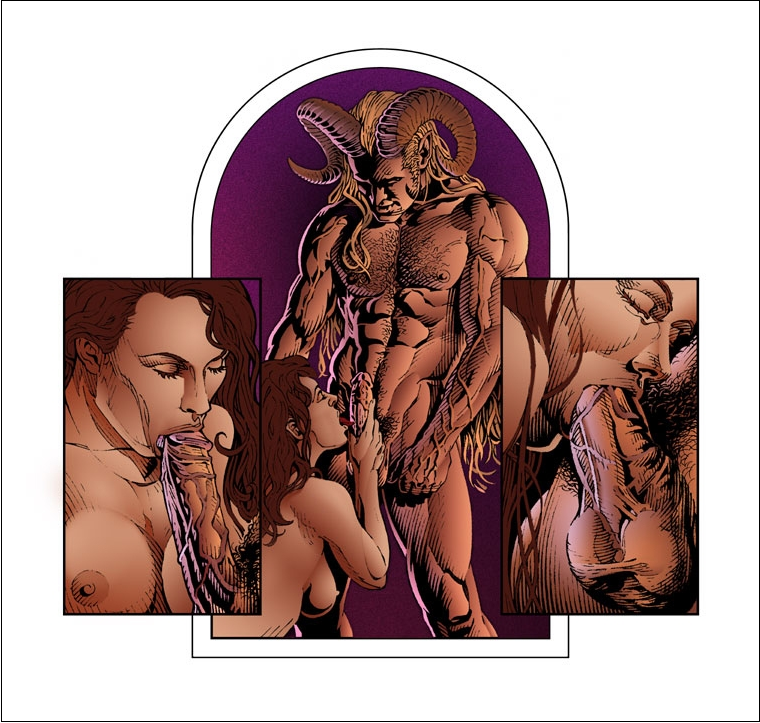 erotic graphic novel art
