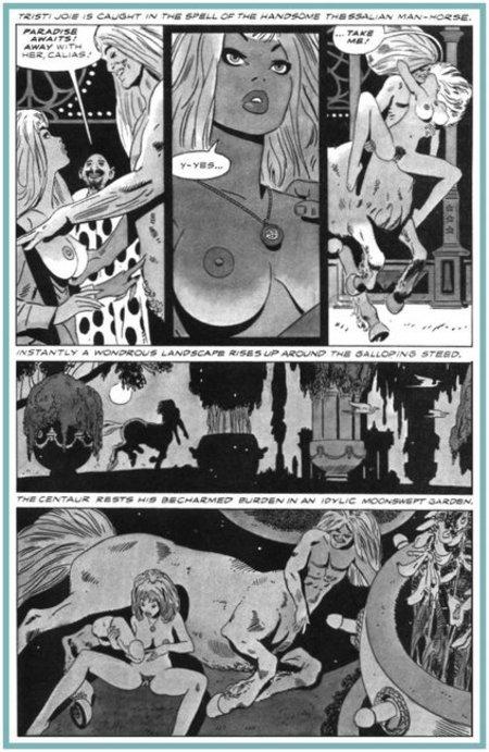 centaur comic porn