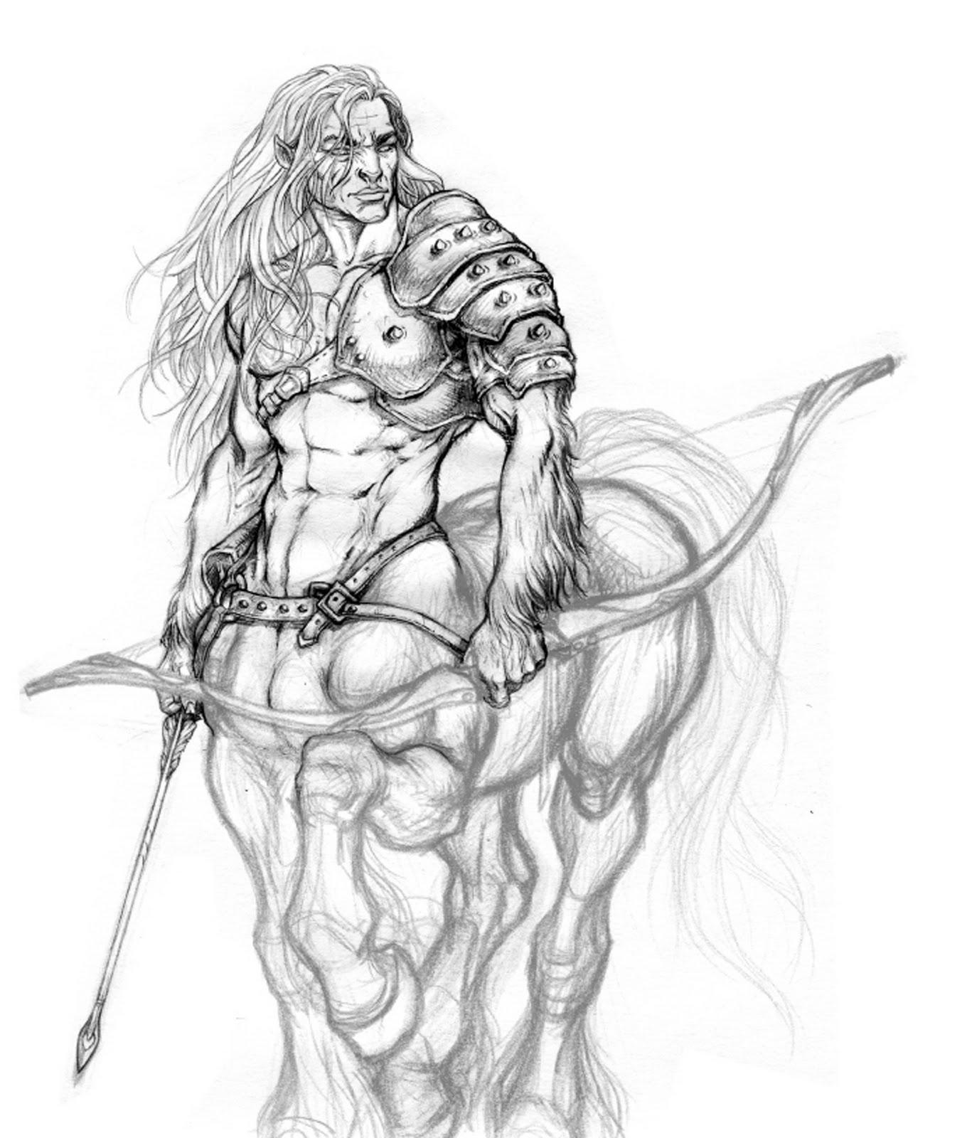 Serious Centaur Art: WIP | Centaurica