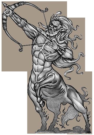 Centaur Tattoos Sagittarius Designs Centaurica