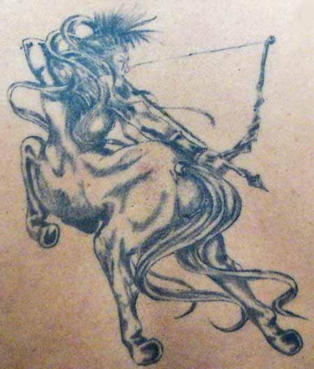 sagittarius female archer tattoo designs