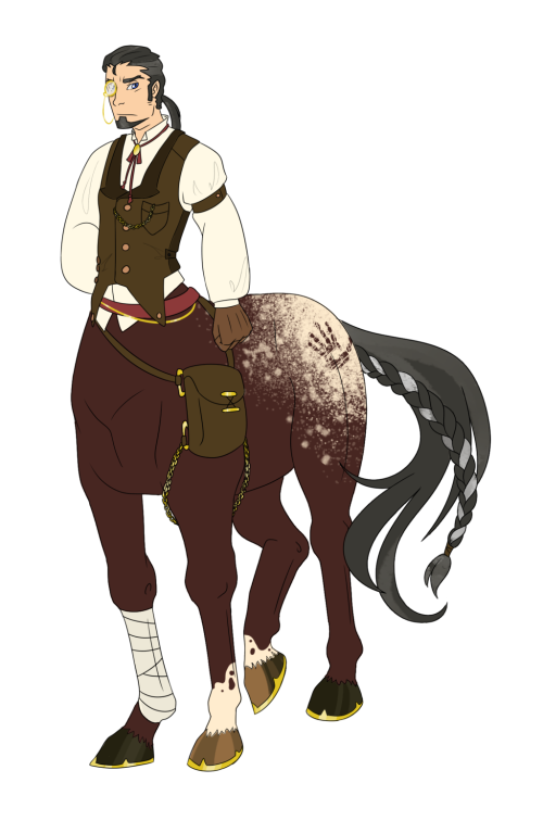 centaur character design by demon hakaseeon_hakase-d649l5s