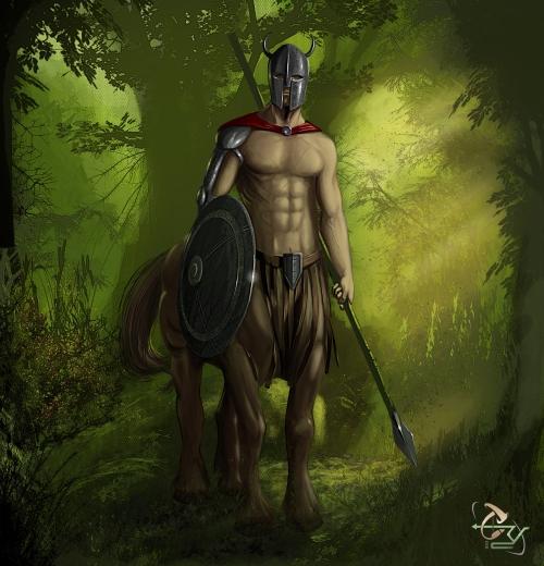 Spartantaur by T. Ry