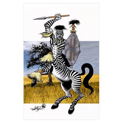 Zebra Zulu Warrior