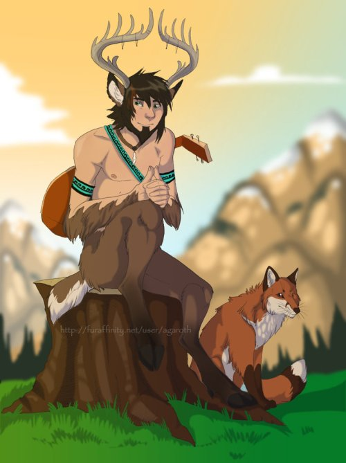 faun boy by chevey-o