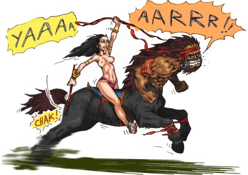 amazone centaure
