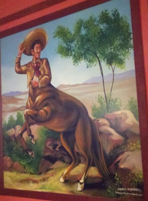 Mexitaur Mural