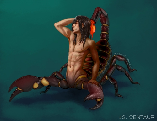 Scorptaur by Indigo Perez