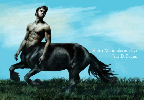 centaur by jear d. bagus