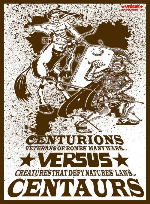 centaurs vs centurions