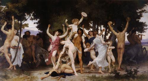 La jeunesse de Bacchus. (1884)