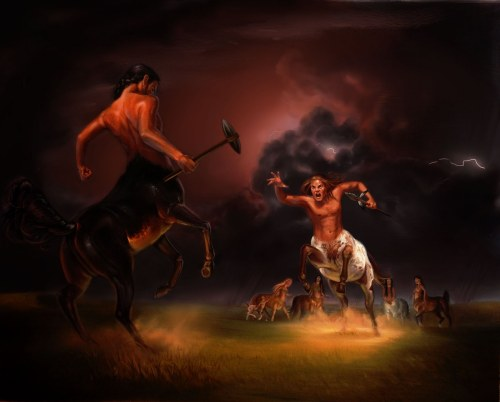 Charging Centaurs by Emily Crowley