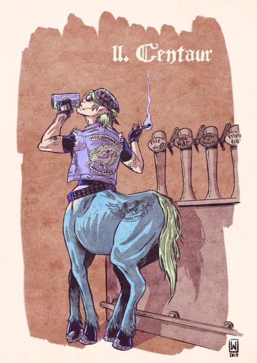 Centauress by W Orks