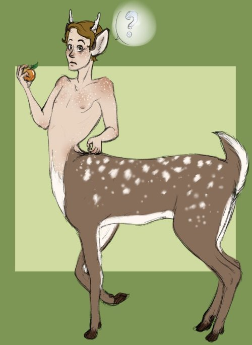 deertaur by manic tea cup