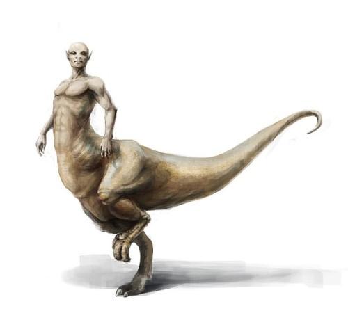 Silurian Centaur by Jingleko