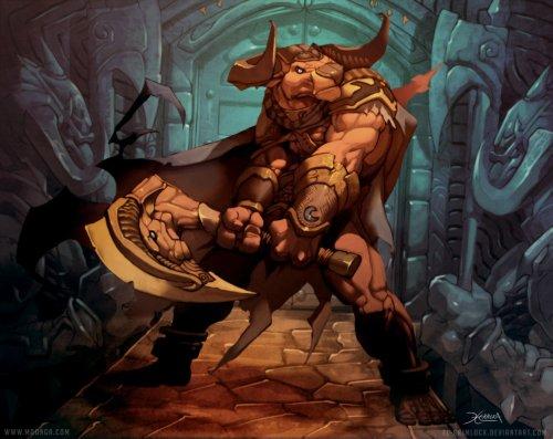 Minotaur Guardian by El Grimlock