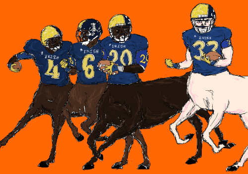 The Fighting Irish Centaurs