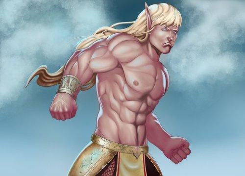 elf hero by malverro