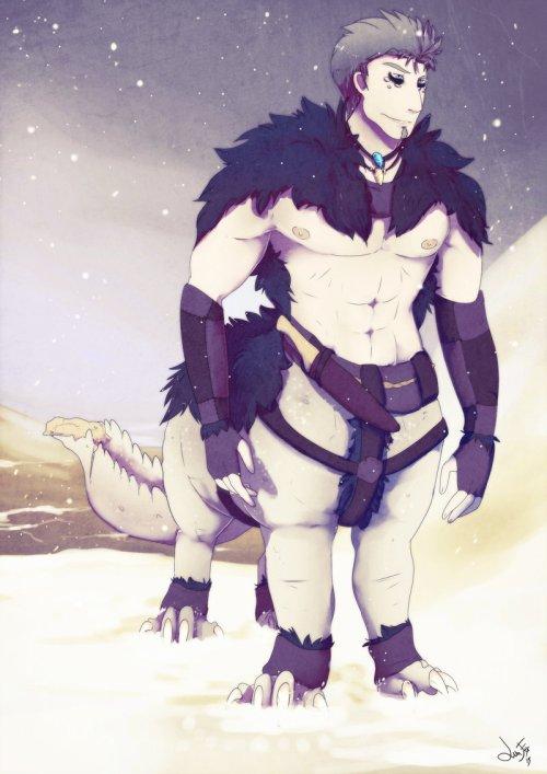 Snow Trekker by Lunafex