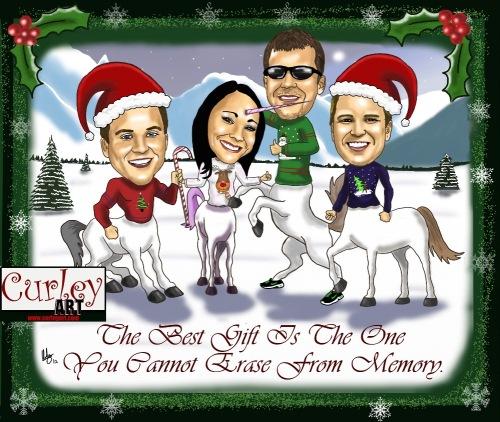 Curley Art Christmas