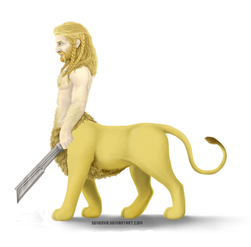 Liontaur Fili by Severka
