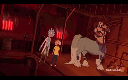 Rick and Morty Taur 1