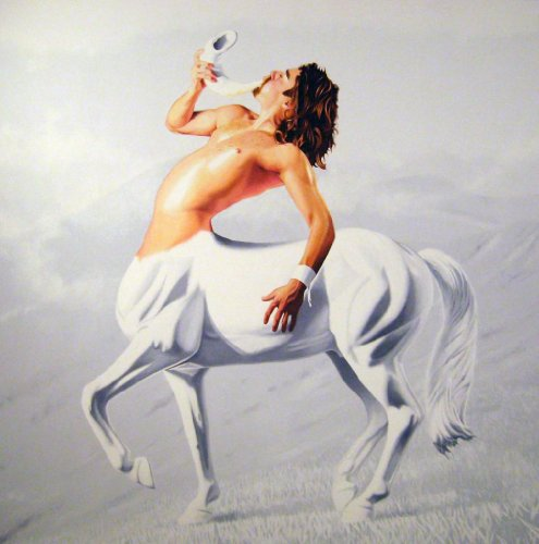 The White Stallion Blows by Nick D'Angelo