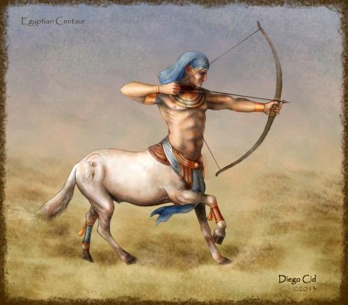 Egyptian Centaur by Diego Cid