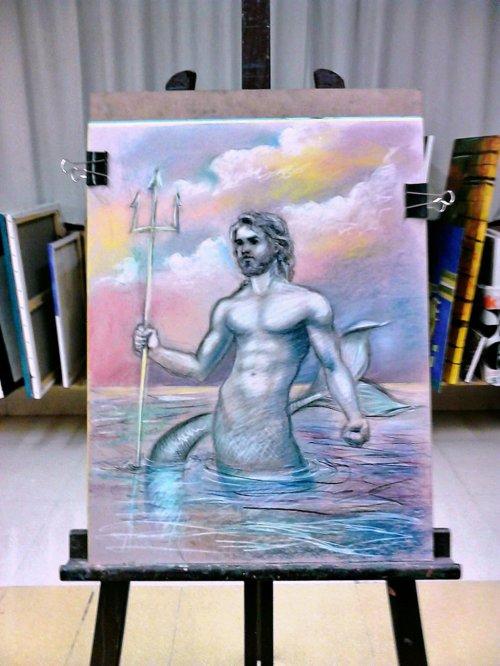 Poseidon by Jose Del Sol