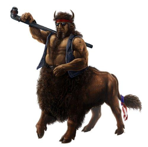 Bison Centaur by Viergacht