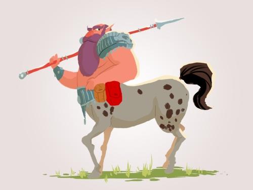 Centaur by Nicolas Rix
