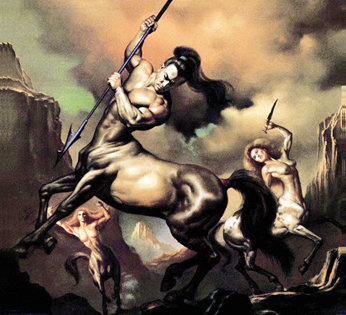 Centaurs by Boris Vallejo