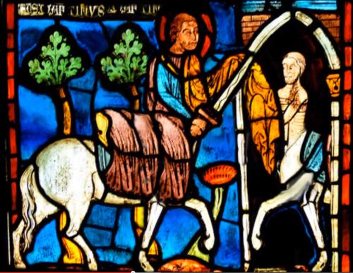 Stained Glass Centaur