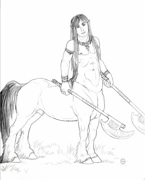 Centaur by Natasha  Owner-Yashataur