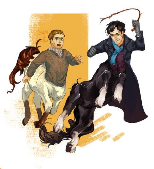 Sherlock Centaur by Isenbeckii