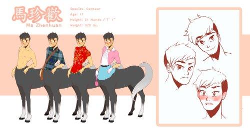 Zhenhuan The Centaur by Yellow Tuna