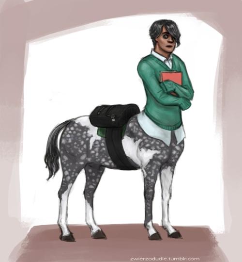 Centaur Doodle by Agata J