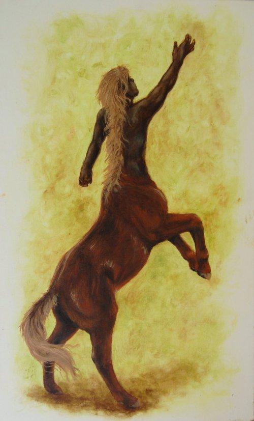 Apple the Centaur: Ella Enchanted by Mara De Weird