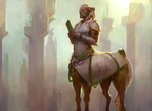 centaur  planeswalkers guide to theros