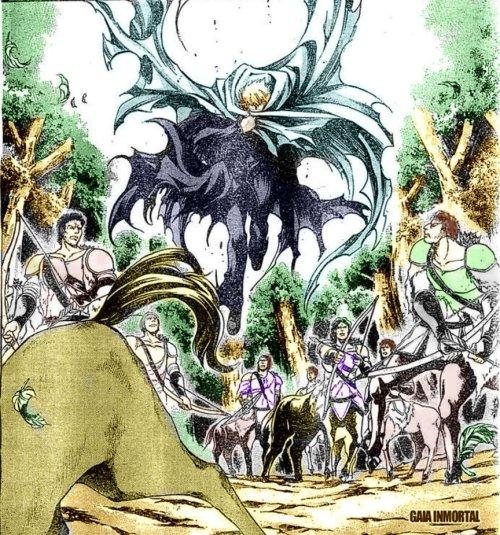 Enfrentamiento Ilias vs. Centauros by Blue Rathy's    athy_s-d6uef9d