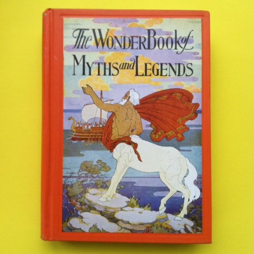 Chiron art on cover of 1928 Wonder Book