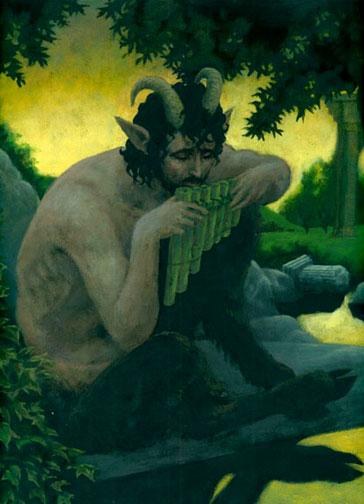green satyr