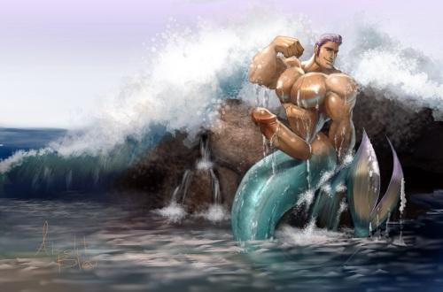 Merman by Absolut Bleu