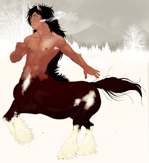 Centaur Beauty by Marichuloca.png