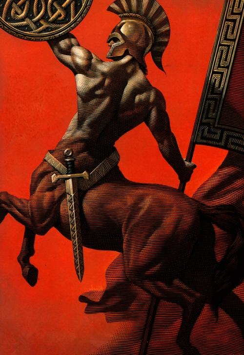 Greek Centaur by Mark Summers