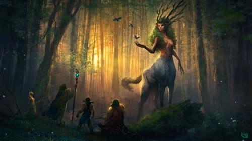 The Colour of Night (Spirit of The Forest) by Rob-Joseph