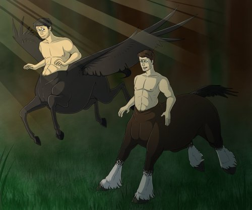Centaurs AU by Jennilah