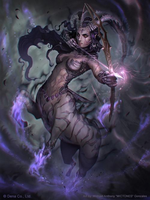 Warriortauress Stage 4 (Super rare) by Mictones