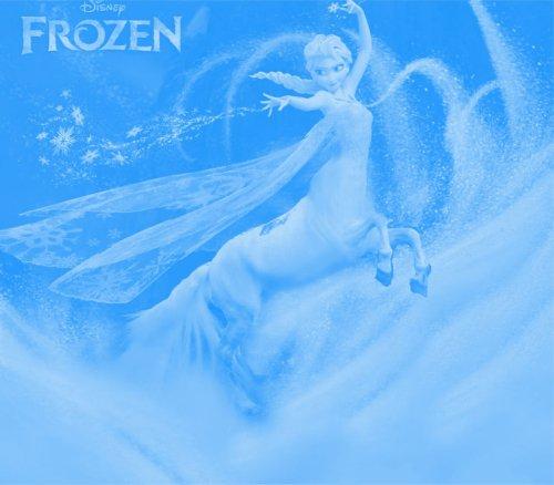 Queen Elsa Centaur by Darknei