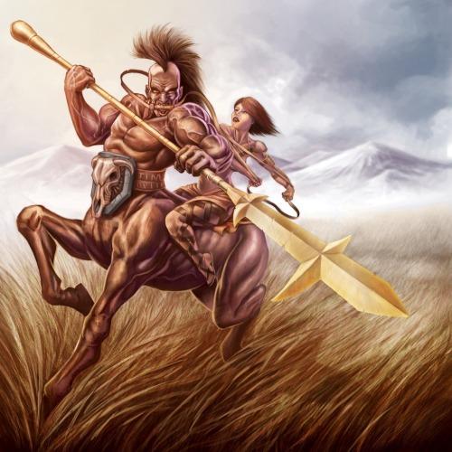 0 A 1 centaur Finally Free by Tim Swit